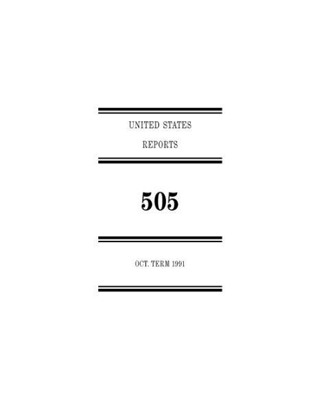 File:United States Reports, Volume 505.djvu