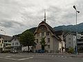 Unterterzen, gemeentehuis in straatzicht foto6 2014-07-20 14.36.jpg