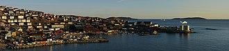 Upernavik - Image: Upernavik evening panorama edit 4