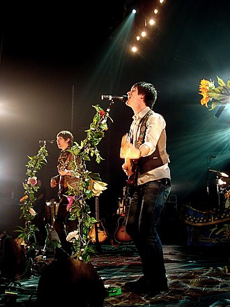 Panic! at the Disco - The band's musical style changed after the release of their psychedelic-inspired album Pretty. Odd.
