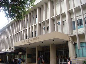 University of Santo Tomas Junior High School - The Benavides Building, which houses the UST High School