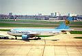 Uzbekistan Airways Airbus A310-324; F-OGQZ@LHR;13.04.1996 (5217486138).jpg