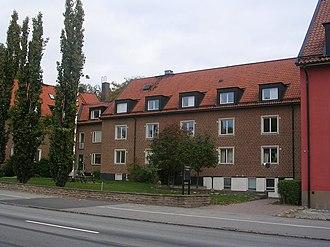 Västgöta Nation, Lund - Västgöta Nation at Tornavägen in Lund.