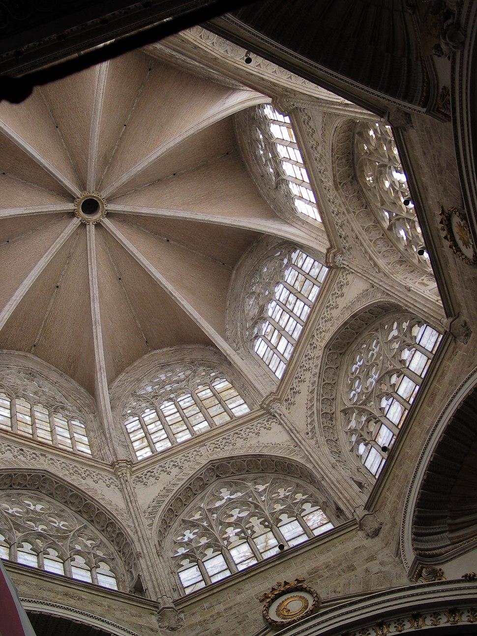 VALENCIA ES Cathedral alabaster windows