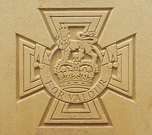 Image of Victoria Cross Medal as appears on CW...