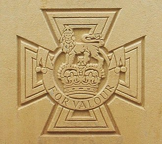 Victoria Cross - Victoria Cross as it appears on Commonwealth War Graves Commission headstones.