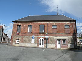 The town hall in Valdampierre