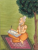 Valmiki, a contemporary of Rama, composes the Ramayana.