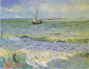 Saintes-Maries (Van Gogh series) - Image: Van Gogh Fischerboote bei Saintes Maries