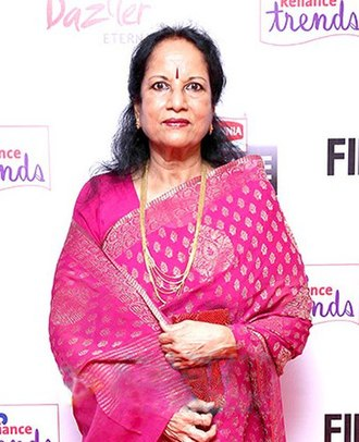 National Film Award for Best Female Playback Singer - Image: Vani Jairam 2014 FF (cropped)