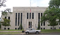 The Van Zandt County Courthouse in Canton