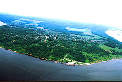 Aerial view of Vasilsursk