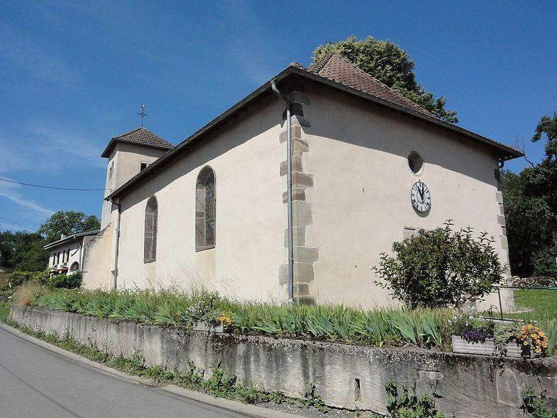Vaxainville (M-et-M) église