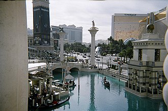 The Venetian Las Vegas - Image: Venetian Hotel and Casino canal view
