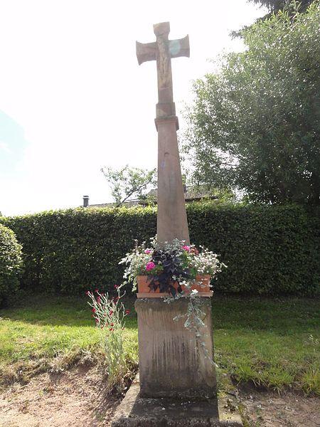 Veney (M-et-M) croix de chemin