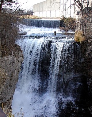 Hastings, Minnesota - The falls of the Vermillion River
