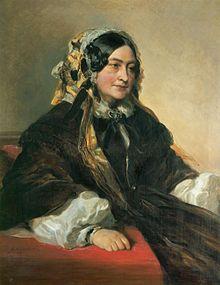 Victoire als Herzogin von Kent (1861) (Quelle: Wikimedia)