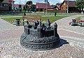 Vierchniadzvinsk Layout of Castle.jpg