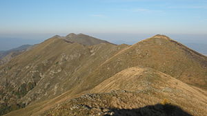 Belasica - Image: View along the main ridge of the Belasitsa range