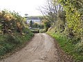 View down the lane - geograph.org.uk - 639470.jpg