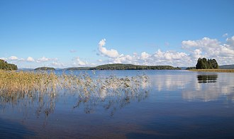 Central Finland - Image: View from Kinkomaa to Päijänne