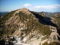 View of Mt. Baldy from Hidden Peak - panoramio.jpg