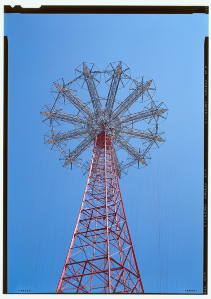 File:View of top of Parachute Jump - Coney Island, Parachute Jump, Coney Island, Kings County, NY HAER NY-344-3 (CT).tif