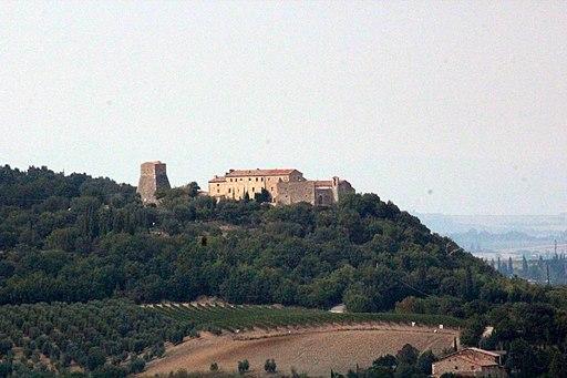 Vignoni Alto or Castello di Vignoni