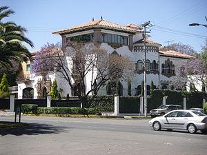 Lomas de Chapultepec - Image: Villa in Lomas de Chapultepec