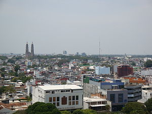 Tabasco - View of Villahermosa, the capital of Tabasco