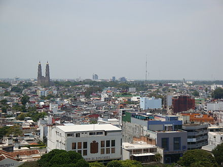 View of Villahermosa, the capital of Tabasco Villahermosa Panoramica 1.jpg