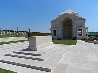 Villers–Bretonneux Australian National Memorial - Image: Villers Bretonneux Australian National Memorial 1