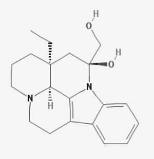 Vincaminol - Image: Vincaminol