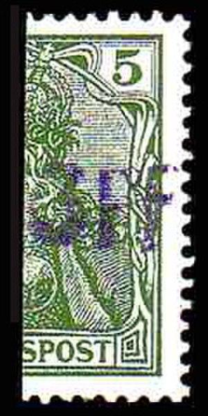 Vineta provisional - Image: Vineta 1901