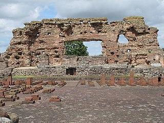 Viroconium Cornoviorum Roman town, near Wroxeter in modern-day Shropshire, England