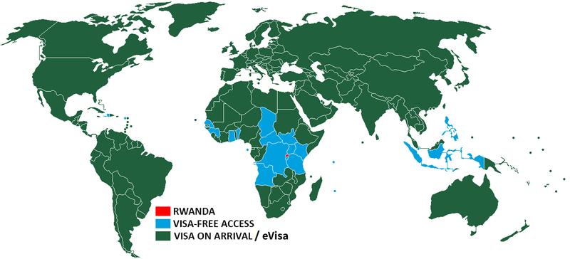 Visa Policy Of Rwanda Wikipedia