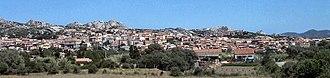 Arzachena - Image: Vista Arzachena