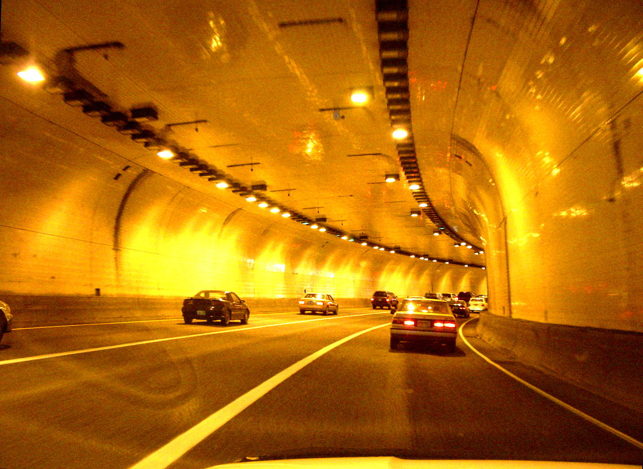 Image result for tunnel road