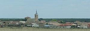 Nieva, Spain - View of Nieva.
