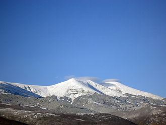 Moncayo Massif - View of the Pico de San Miguel.