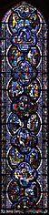vitrail de Saint Jean à Chartres
