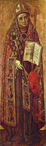 Витторио Кривелли. Св. Бонавентура. Ок. 1500. Рейксмузей. Амстердам