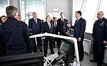 Vladimir Putin visited the Kazan Aircraft Production Association 02.jpg