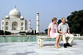 Vladimir and Lyudmila Putin visiting the Taj Mahal.jpg
