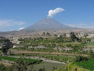 Misti - Image: Volcan Misti