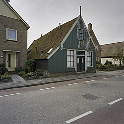Historical house in Lutjebroek