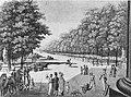 Vorplatz am Brandenburger Tor, 1818, Calau.jpg