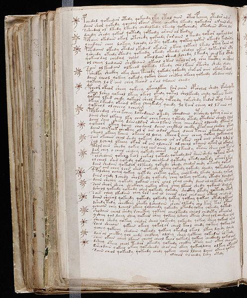 Voynich Manuscript Facsimile File Voynich Manuscript 194