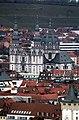 Würzburg, Blick von der Festung Marienberg zur Kirche des Stiftes Haug.jpg