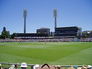 John Inverarity - The Inverarity Stand (centre-left) at the WACA Ground